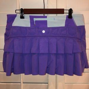 Lululemon Pace Setter Skirt Skort Size 10 Regular